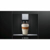 Bosch CTL636EB6 with coffee cup
