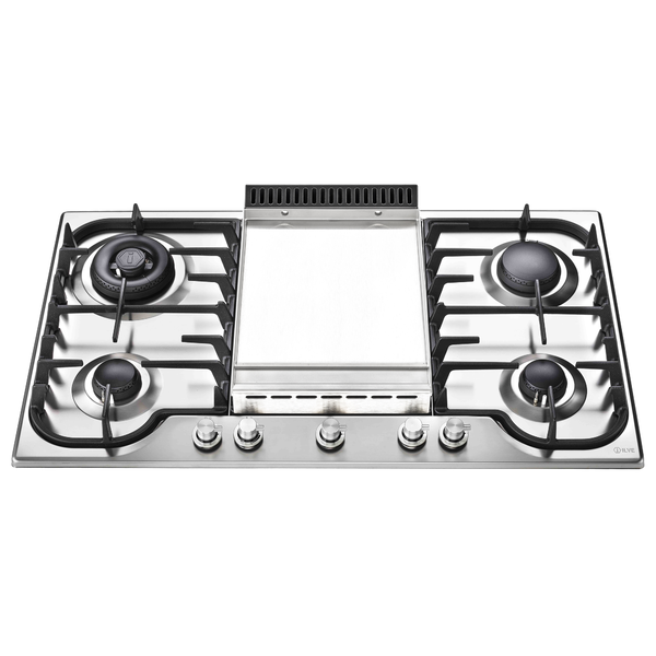 Ilve HP95FDT Gas with Teppanyaki cooktop