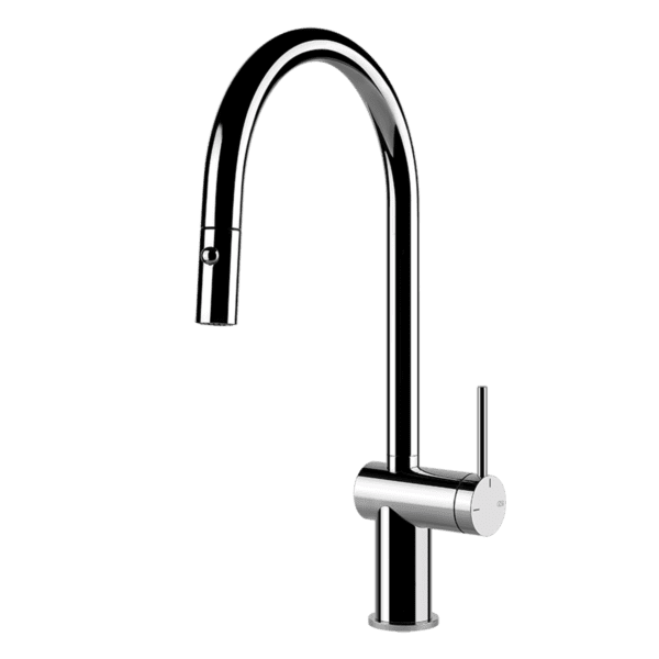 Gessi 60413 Inedito Pull Out Kitchen Mixer